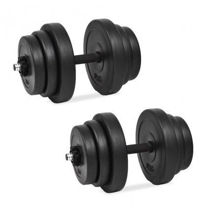 18dílný set činek | 40 kg