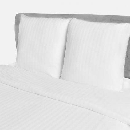 Bavlněné saténové povlečení - přikrývka a polštář   200x200/80x80cm