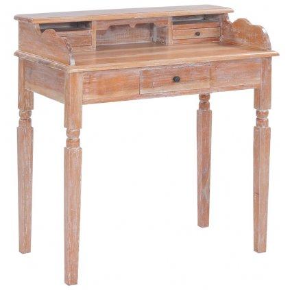 Psací stůl - masivní mahagon | 90x50x98 cm