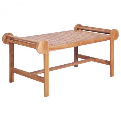 Marlboro konferenční stolek - masivní teak | 100x50x45 cm