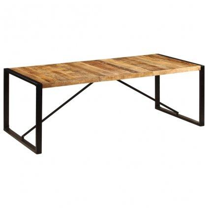 Jídelní stůl -  masivní mangovníkové dřevo | 220x100x75 cm