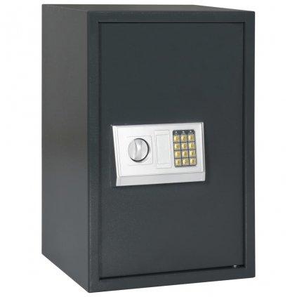 Digitální trezor - tmavě šedý | 40x35x60 cm