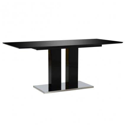 Jídelní stůl - MDF - černý   180x90x76 cm