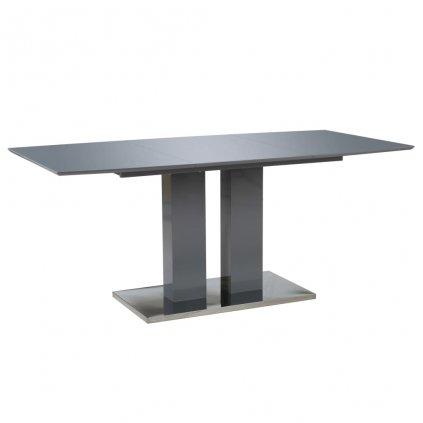 Jídelní stůl - MDF  - šedý   180x90x76 cm
