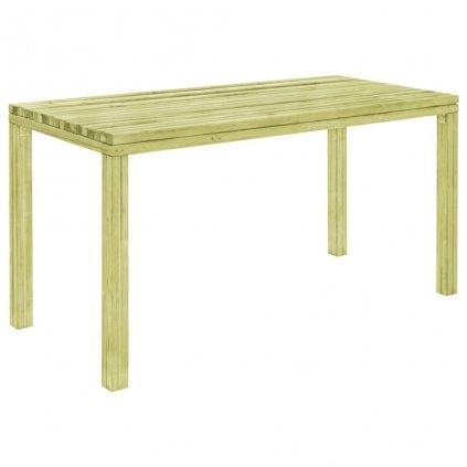 Jídelní stůl - přírodní borové dřevo   150x75,5x77 cm