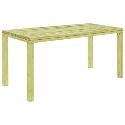 Jídelní stůl - přírodní borové dřevo | 170x75,5x77 cm