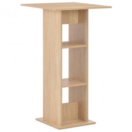 Barový stůl - dubový | 60x60x110 cm