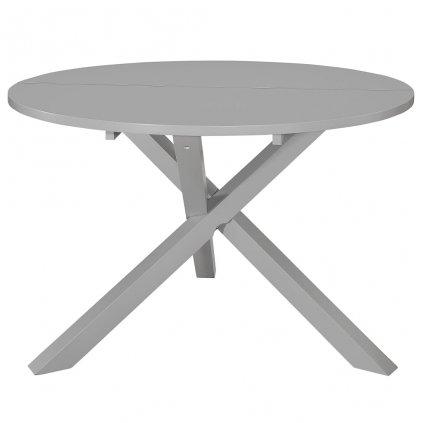 Jídelní stůl - MDF - šedý | 120x75 cm