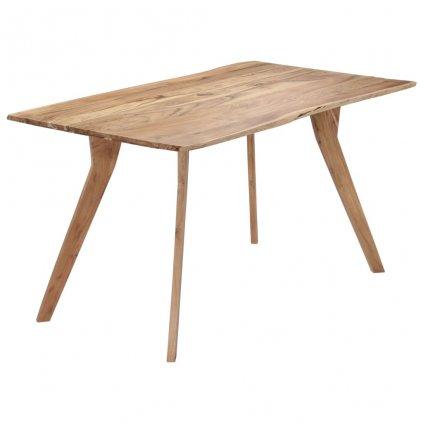 Jídelní stůl - masivní akáciové dřevo | 140x80x76 cm