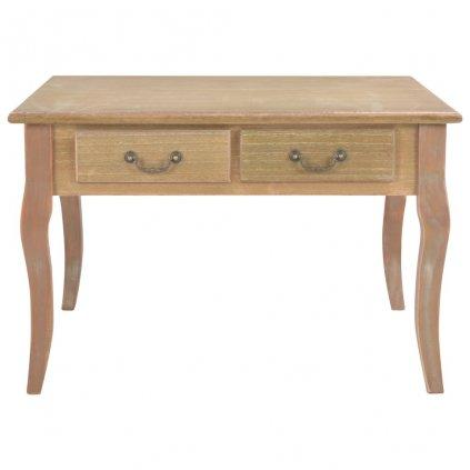 Konferenční stolek - dřevo - hnědý | 80x80x50 cm