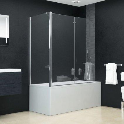 Skládací sprchový kout - čirý | 120x68x140 cm