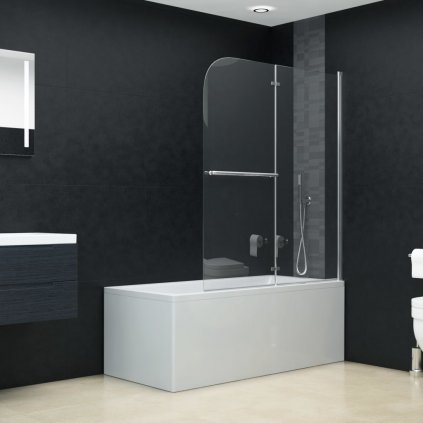 Skládací sprchový kout se 2 panely    95x140 cm