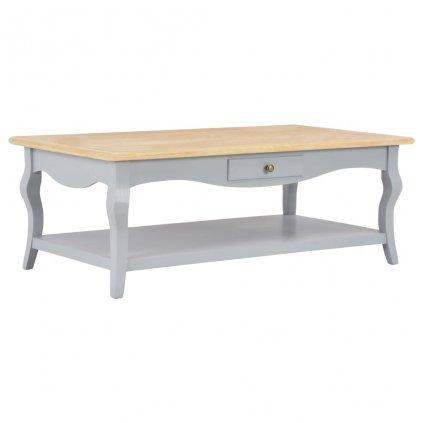 Konferenční stolek - MDF - šedý | 110x60x40 cm
