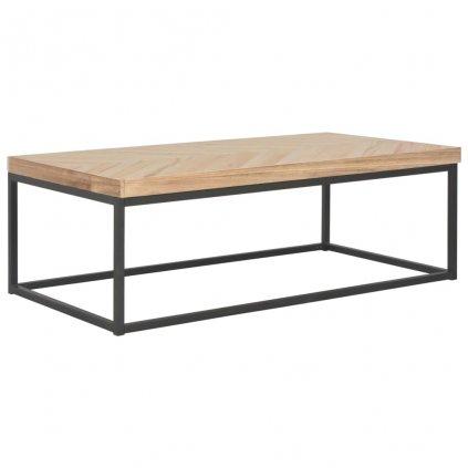 Konferenční stolek - masivní dřevo | 110x60x37 cm