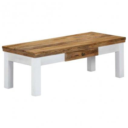Konferenční stolek - masivní mangovníkové dřevo | 110x50x40