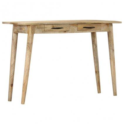 Konzolový stolek -  masivní hrubý mangovník | 115x40x75 cm