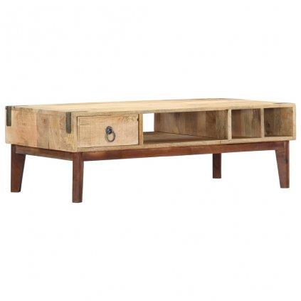 Konferenční stolek - masivní mangovníkové dřevo | 110x55x40