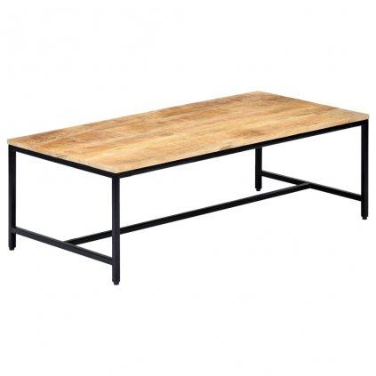 Konferenční stolek - masivní hrubý mangovník | 120x60x40 cm