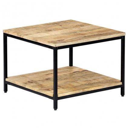 Konferenční stolek - masivní mangovníkové dřevo | 60x60x45 cm