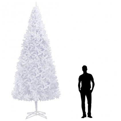 Umělý vánoční strom - 400 cm | bílý