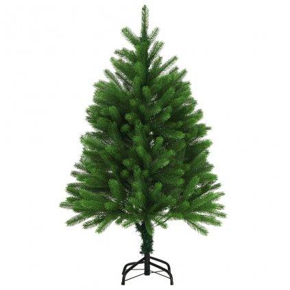 Umělý vánoční strom s velmi realistickým jehličím - 120 cm | zelený