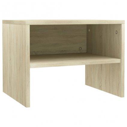 Noční stolek - dřevotříska - dub sonoma   40x30x30 cm
