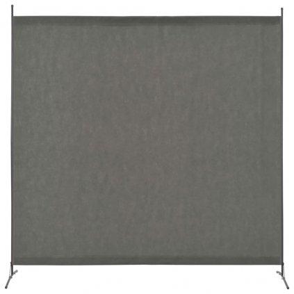 1-dílný paraván - antracitový | 175x180 cm