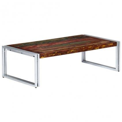 Konferenční stolek - masivní recyklované dřevo | 120x60x35 cm