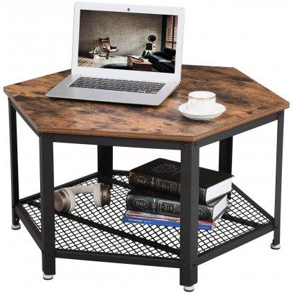 Konferenční stolek Hunton   75x75x45 cm
