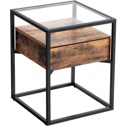 Boční stolek Lincoln | 43x43x54 cm