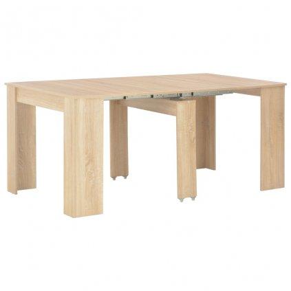 Rozkládací jídelní stůl - dub sonoma | 175x90x75 cm