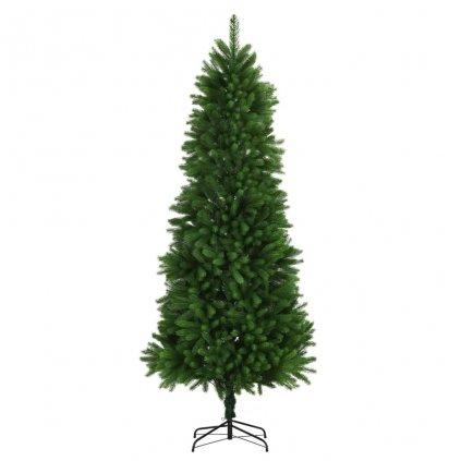 Umělý vánoční strom s velmi realistickým jehličím - 240 cm | zelený