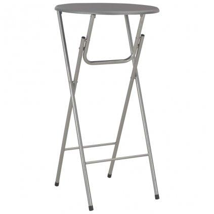 Barový stůl Sonoma - MDF - 60x112 cm | antracitový