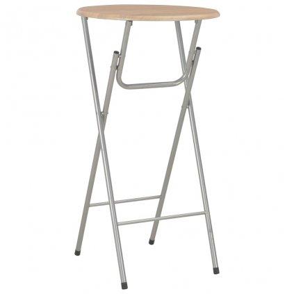 Barový stůl Sonoma - MDF - 60x112 cm | dubový odstín