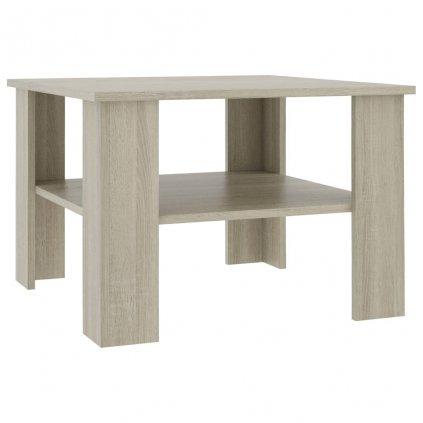 Konferenční stolek Awake - dub sonoma - dřevotříska | 60x60x42 cm
