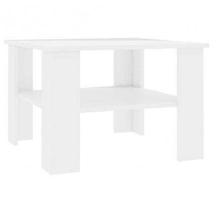Konferenční stolek Awake - bílý vysoký lesk | 60x60x42 cm