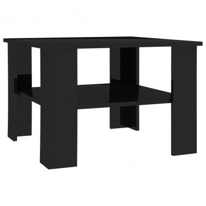 Konferenční stolek Awake - černý vysoký lesk | 60x60x42 cm