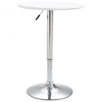 Barový stůl Kloof - MDF - O 60 cm   bílý