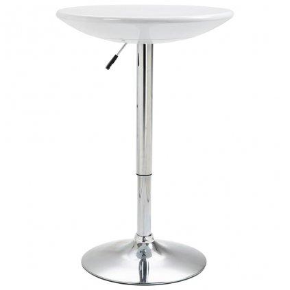 Barový stůl Groote - ABS - O 60 cm | bílý