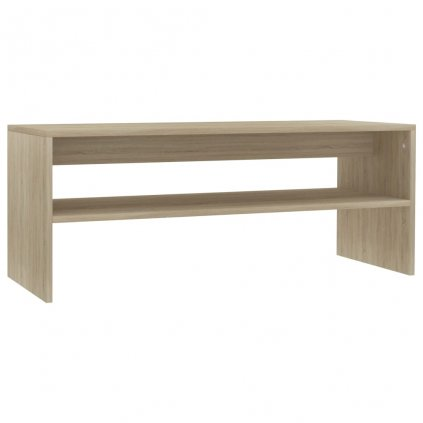Konferenční stolek Christop - dub sonoma - dřevotříska | 100x40x40 cm