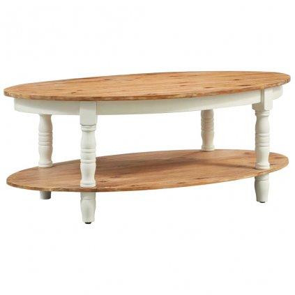Konferenční stolek -masivní akáciové dřevo | 102x62,5x42 cm