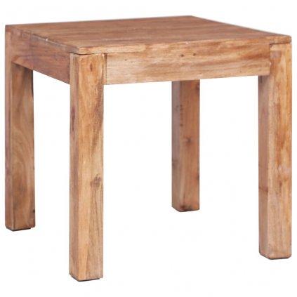 Konferenční stolek - masivní recyklované dřevo | 53x50x50 cm
