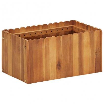 Zahradní truhlík Bunny - masivní akáciové dřevo | 50 x 30 x 25 cm