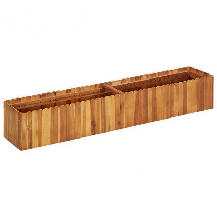 Zahradní truhlík Bunny - masivní akáciové dřevo   150 x 30 x 25 cm