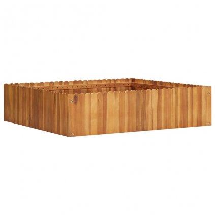 Zahradní truhlík Bunny - masivní akáciové dřevo | 100 x 100 x 25 cm