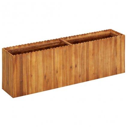 Zahradní truhlík Bunny - masivní akáciové dřevo | 150 x 30 x 50 cm