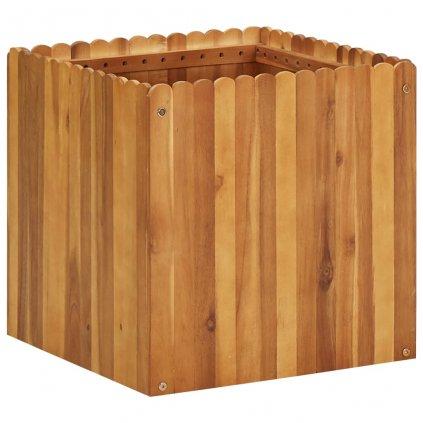 Zahradní truhlík Bunny - masivní akáciové dřevo | 50 x 50 x 50 cm