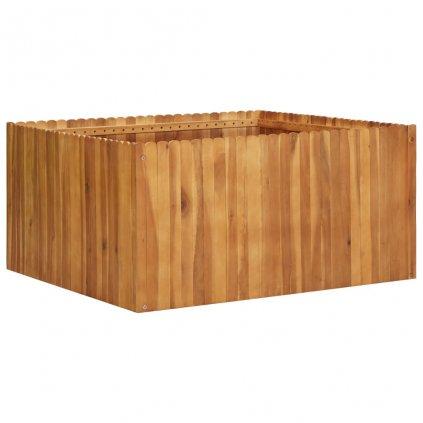 Zahradní truhlík Bunny - masivní akáciové dřevo | 100 x 100 x 50 cm