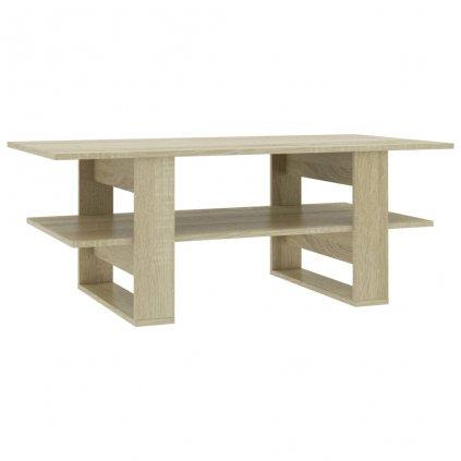 Konferenční stolek - dub sonoma - dřevotříska | 110x55x42 cm