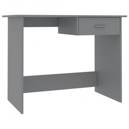 Psací stůl Rouh - šedý | 100x50x76 cm